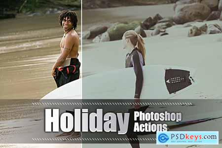 150 Holiday Photoshop Actions 3937606