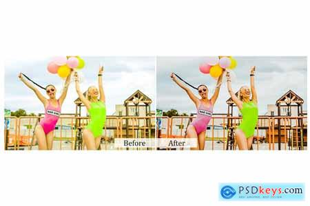 100 Hello Summer Photoshop Actions 3937579
