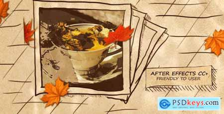 VideoHive Autumn Hand-Drawn Slideshow 18254863