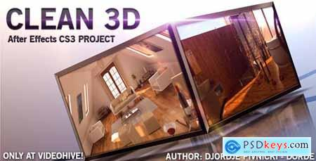 VideoHive CLEAN 3D 157081