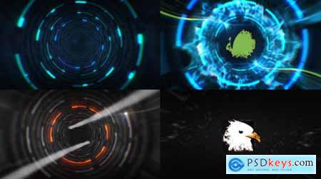 VideoHive Tunnel Logo Reveal 19997681