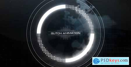 VideoHive Short Glitch Intro 19428362