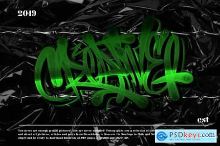 GRAFFITI BRUSH for procreate 3983122