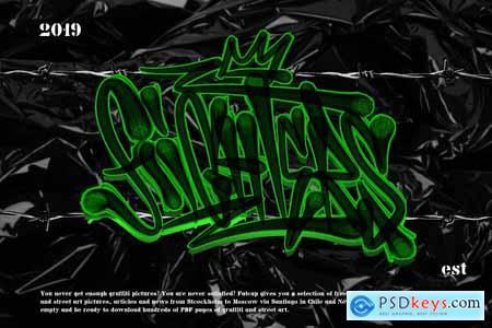 GRAFFITI BRUSH for procreate 3983122