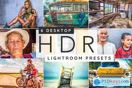 HDR Lightroom desktop presets 3957300