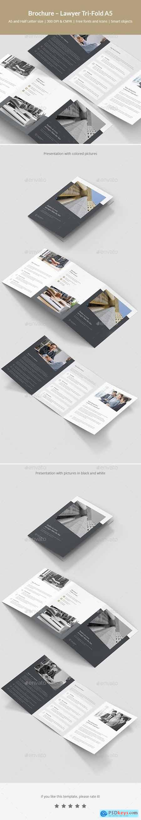 Brochure – Lawyer Tri-Fold A5 24226861