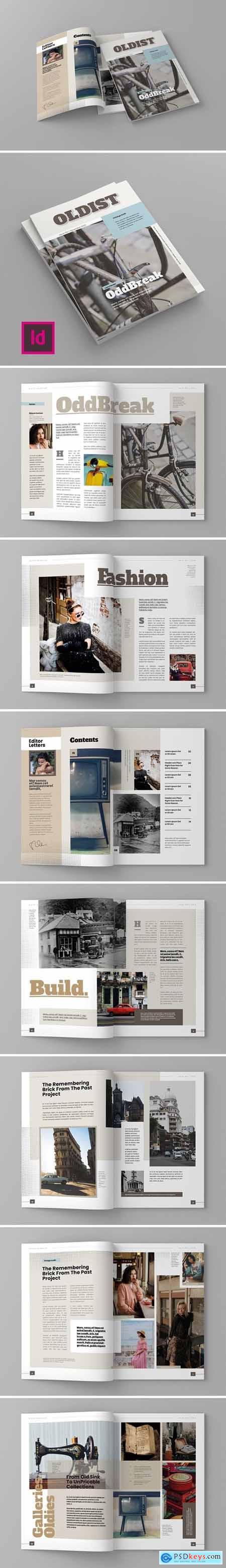 Oldist - Magazine Template