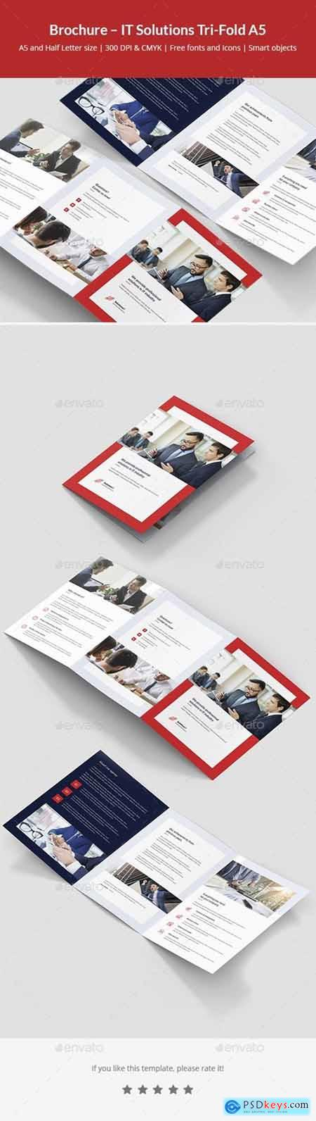 Brochure – IT Solutions Tri-Fold A5 23854003