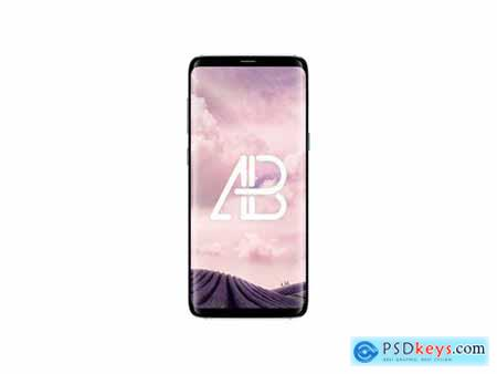 Samsung Galaxy S8 Plus Front View Mockup