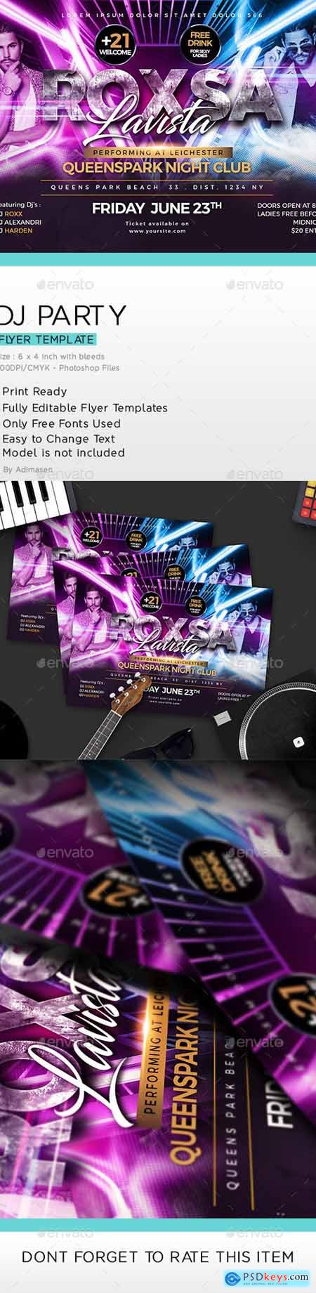 DJ Party Flyer 24279016