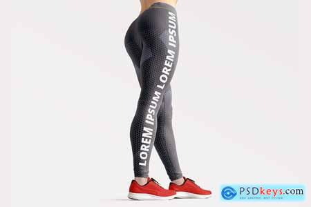 Leggings 2 Mockup Set 3878161