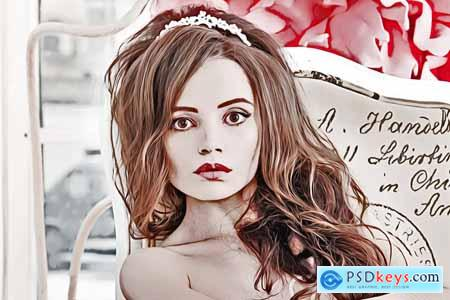Photo Vector Art Effect 3945048