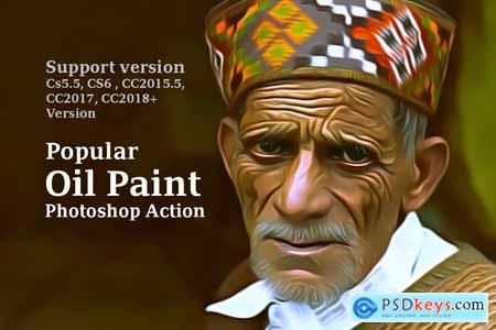 Popular Oil Paint Action 3884179