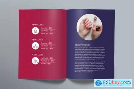 Nail Studio Brochure Bifold 3998053