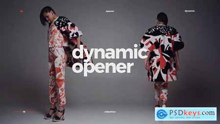 VideoHive Dynamic Opener Fast Stomp Typography Fashion Event Promo Clean Rhythmic Intro