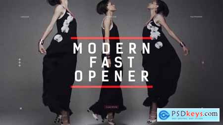 VideoHive Modern Fast Opener Dynamic Typography Fashion Event Promo Clean Stomp Rhythmic