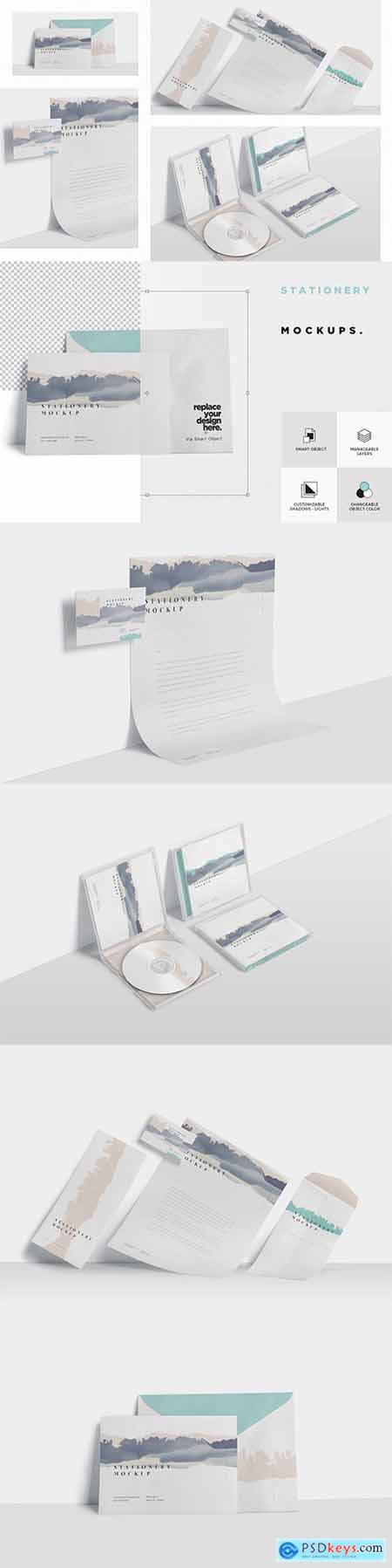 Stationery Mock Ups