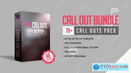 VideoHive Call Out Bundle 24310835