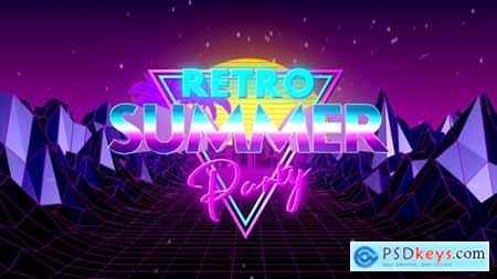 VideoHive Retro Summer Party Opener 24301945