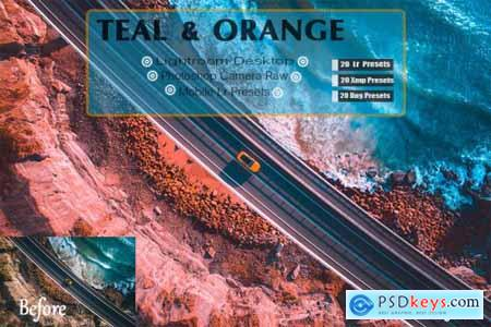 Teal & Orange Lightroom Presets