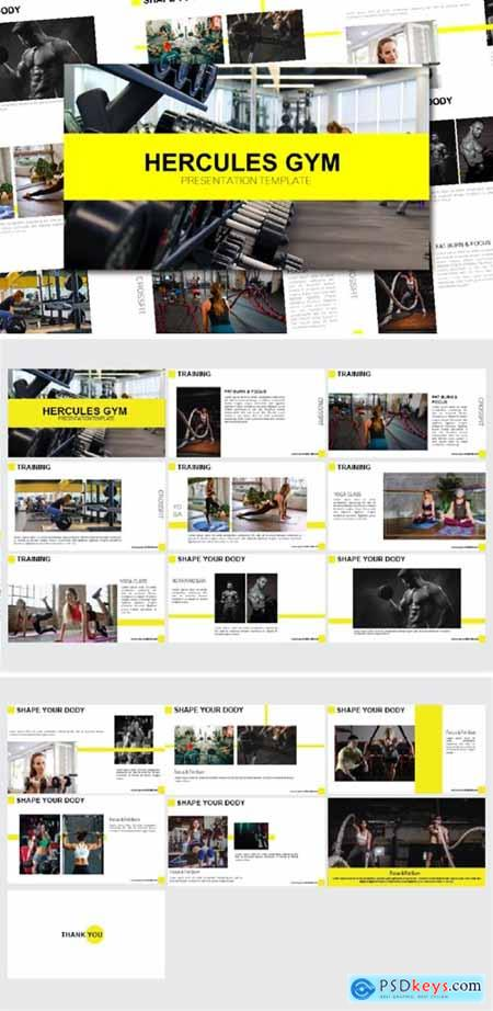 Hercules – Powerpoint and Keynote Templates