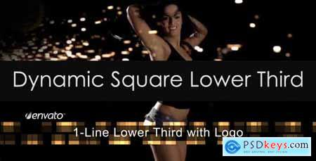 Videohive Dynamic Square Lower Third 3536887