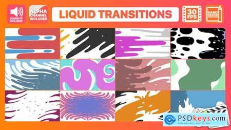 Videohive Liquid Motion Transitions Final Cut Pro 24305650