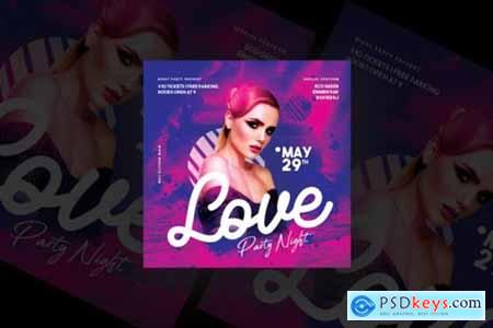 Love Party Night Flyer