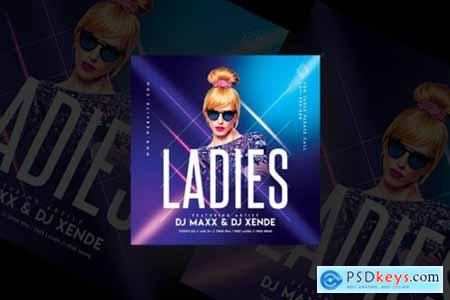 Ladies Party Flyer Templates