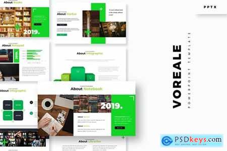 Voreale Powerpoint, Keynote and Google Slides Templates