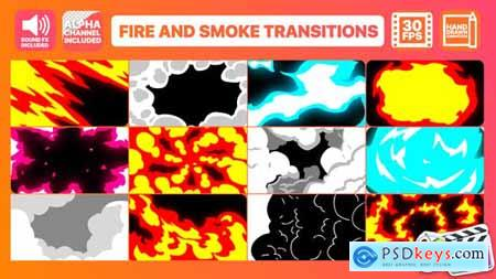 Videohive Fire And Smoke Transitions Final Cut Pro