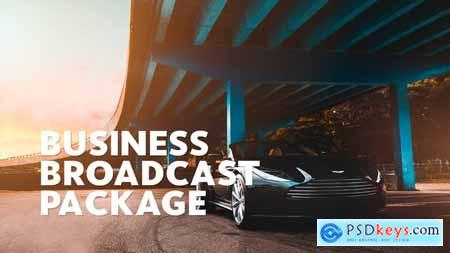 Videohive Business Broadcast Pack Essential Graphics Mogrt