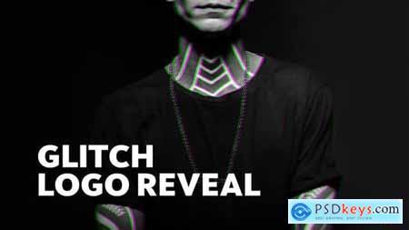Videohive Bold Glitch Logo Reveal 23675182