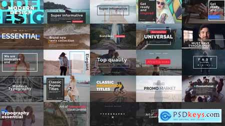 Videohive Essential Titles V.2 24338605