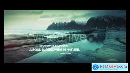 Videohive Nature and Quotes 23153927
