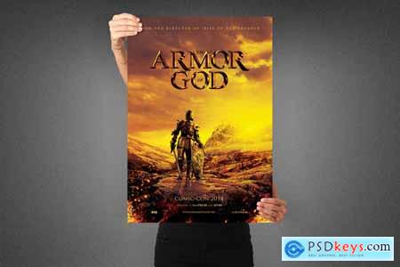 Armor of God Movie Poster Template 3990697