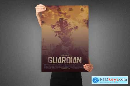 Guardian Movie Poster Template 3990730