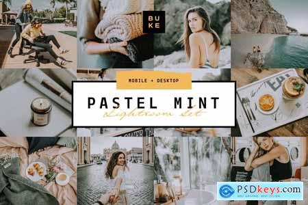 Pastel Mint 4 Lightroom Preset Pack 3957670