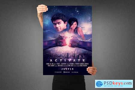 Activate Movie Poster Template 3990890