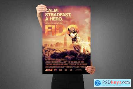 Fido Movie Poster Template 3991104