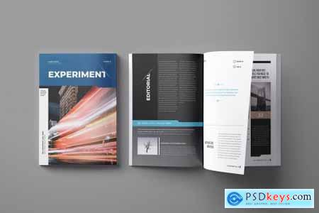 Indesign Magazine Brochure Template