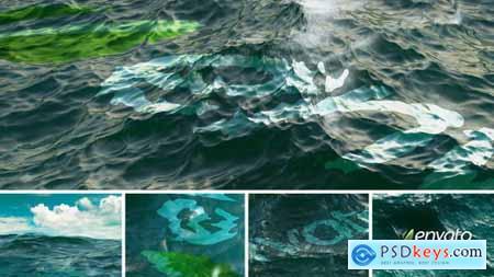 Videohive Realistic Ocean Logo 9221768
