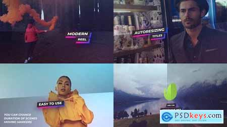Videohive Modern Production Reel 23999204