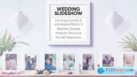 Videohive Wedding Slideshow for FCPX and Apple Motion 5 23573009