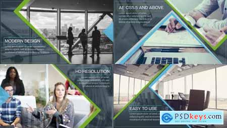Videohive Clean Business Slides 19301955