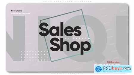 Videohive Sales Shop Clean Slideshow 22702296