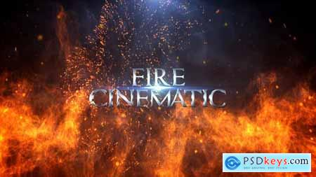 Videohive Fire Cinematic Titles 24340638