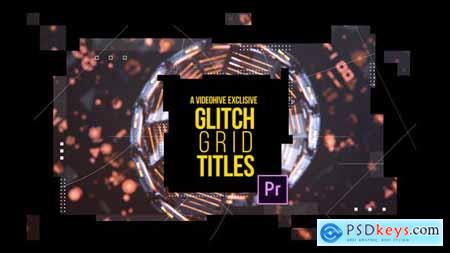 Videohive Glitch Grid Titles 23369224