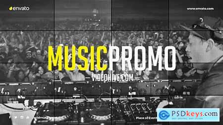 VideoHive Music Event Promo Party Invitation EDM Festival Night Club DJ Performace