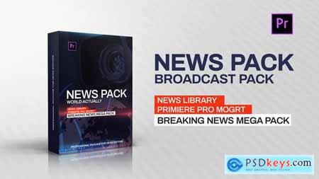 Videohive News Library - Broadcast Pack 23261869